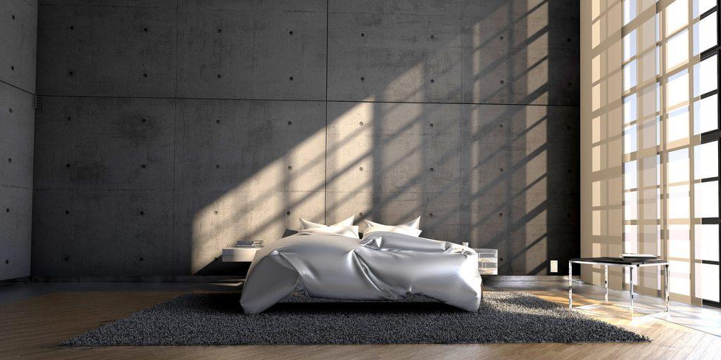 理想的な睡眠を得られる部屋とベッド